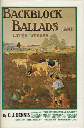 BACKBLOCK BALLADS AND LATER VERSES book cover