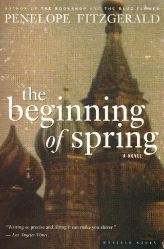 THE BEGINNING OF SPRING book cover