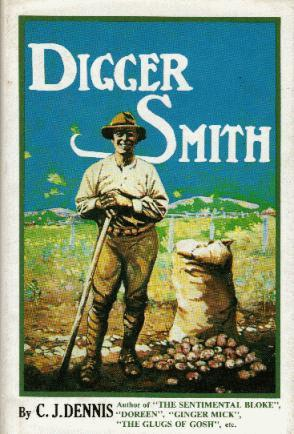 DIGGER SMITH book cover