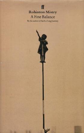 A FINE BALANCE book cover