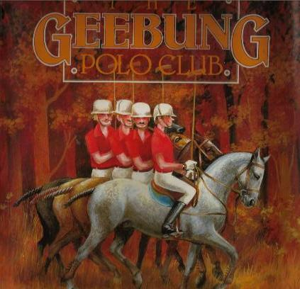 THE GEEBUNG POLO CLUB book cover
