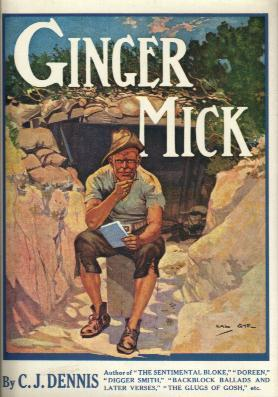 THE MOODS OF GINGER MICK book cover