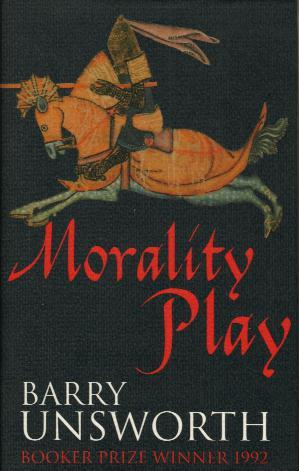 MORALITY PLAY book cover