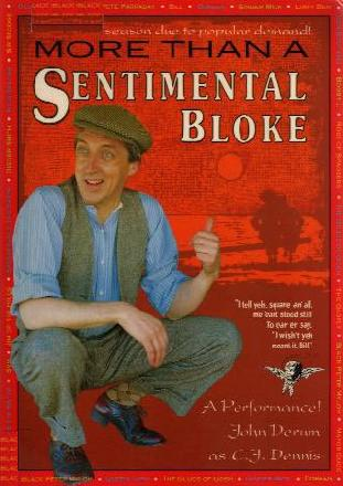 MORE THAN A SENTIMENTAL BLOKE book cover