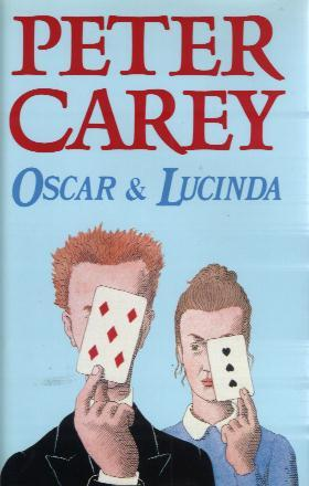 OSCAR AND LUCINDA book cover