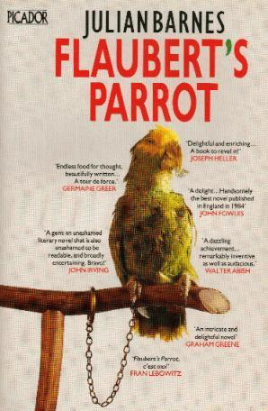 FLAUBERT'S PARROT book cover