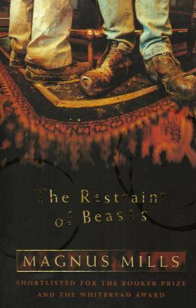 THE RESTRAINT OF BEASTS book cover