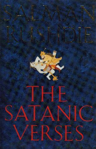 THE SATANIC VERSES book cover