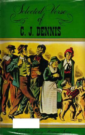 SELECTED VERSE OF C.J. DENNIS book cover