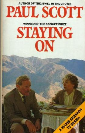 STAYING ON book cover